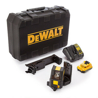 $329.99 • Buy DeWALT 10.8V Green Beam X3 360 1080 Self Levelling Cross Line Laser DCE089D1G-XE