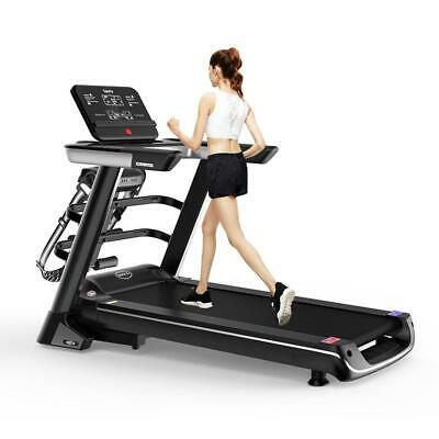 AU489.99 • Buy Multi-functional Electric Treadmill Pulse Sensor Fitness Home Gym Massage Sit Up
