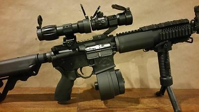 $129.99 • Buy NEW RED DOT SIGHT & 5x MAGNIFIER Scope Optic Eotech Aimpoint Tacfire Red Dot
