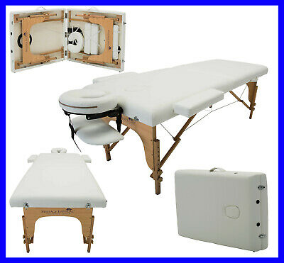 Charbury Portable Massage Table Couch Beauty Therapy Bed Reiki • 79.99£