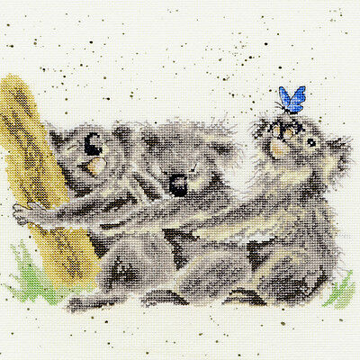 £24.95 • Buy Bothy Threads Three Of A Kind Koalas Hannah Dale Counted Cross Stitch Kit Xhd20