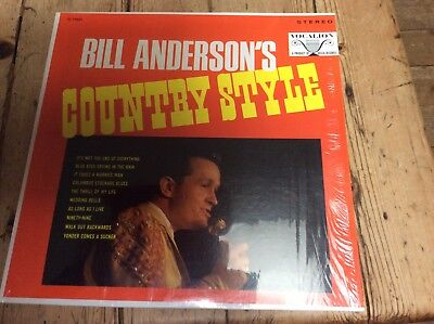 Bill Anderson-country Style-vocalion U.S. Stereo L.P. • 12.99£