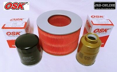 AU40.43 • Buy Suits: LANDCRUISER PRADO KZJ95 DIESEL 4.2L 1HZ OIL AIR FUEL FILTER SERVICE 98-07