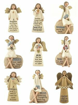 £10.49 • Buy Angel Decoration Ornament Mum Sister Daughter Grandma Friend Gift Mother's Day