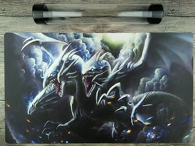 AU32.37 • Buy Blue Eyes Ultimate Dragon Mat YuGiOh WCQ/WCS TCG Playmat Free High Quality Tube