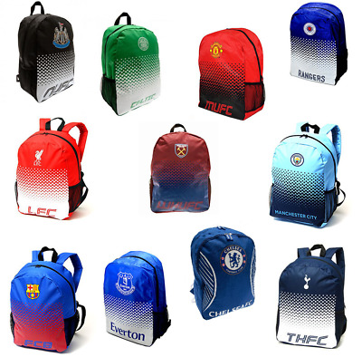 Football Backpack School Bag Rucksack - Manchester United, Barcelona, Liverpool • 14.84£