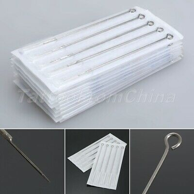 $ CDN2.61 • Buy Disposable Tattoo Needles 10/50X 5RL Medical Stainless Steel Round Liner Needles