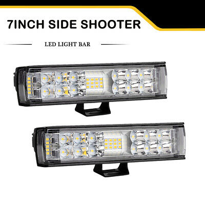 AU39.99 • Buy 7 Inch LED Light Bar Work Pods Beam For Driving Offroad ATV SUV UTE Super Bright