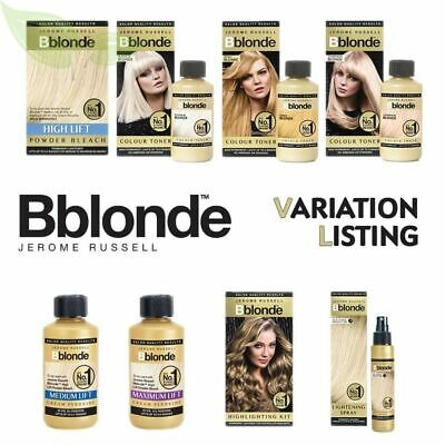 Jerome-Russell-Blonde-Full-Range-Kit-Toner-Ombre-Kits • 6.49£
