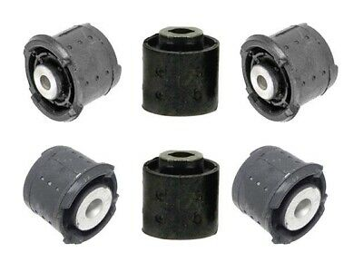 $119 • Buy BMW E46 Rear Subframe Mounts 6pcs Differential Axle Carrier Support Bushing