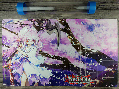 AU32.37 • Buy Ghost Reaper & Winter Cherries YuGiOh Playmat Master Rule 4 Free Best Tube