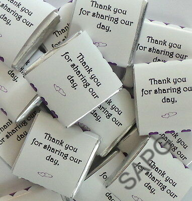 £3.99 • Buy 10 X Wedding Favours ~ Lavazza Chocolate Squares & Personalised Wrappers