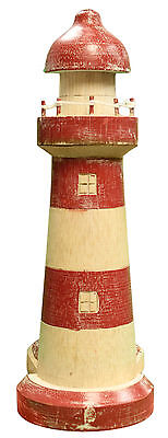 $18.70 • Buy Nautical Decoration Hand Carved/ Painted Seashore Lighthouse Paper Towel Holder