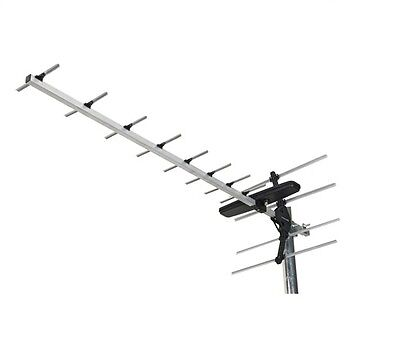 Digital Tv Aerial Labgear Gt12 Wideband Freeview Loft Aerial Caravan Boats Etc • 14.99£