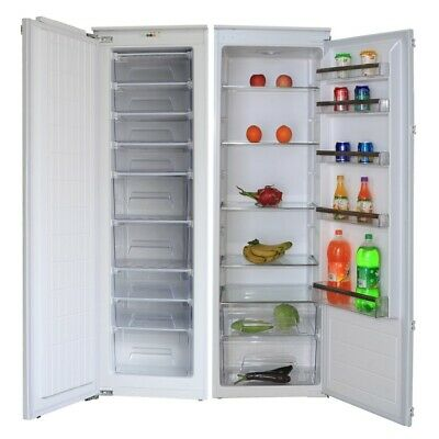 View Details Cookology Upright Integrated Tall Fridge & Full Height Built-in Freezer Pack • 729.99£