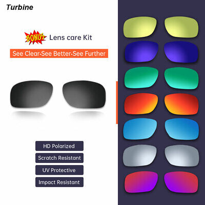 AU26.99 • Buy Oakley Turbine 9263 Polarized Replacement Lenses Sports Premium Sunglasses AU