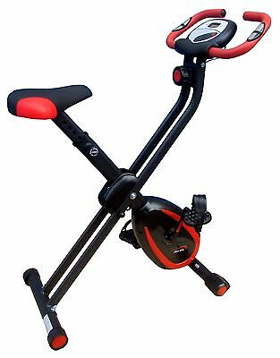 £99.99 • Buy XerFit™ Folding Magnetic Exercise Bike - Cycle Fitness Cardio Workout Home