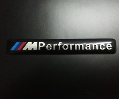 AU9.95 • Buy Black M Logo Embossed Badge Emblem Sticker For BMW M X1 X3 X4 X5 X6 M3 M5 GT