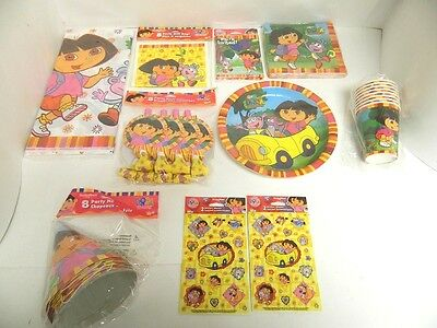 Dora The Explorer Party Supplies - Tablecover, Cups, Plates, Etc - You Pick • 5.15£