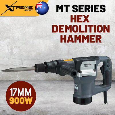 AU469.90 • Buy New Makita 900W 17mm MT Series Corded Hex Demolition Hammer 2,900ipm Power Tool