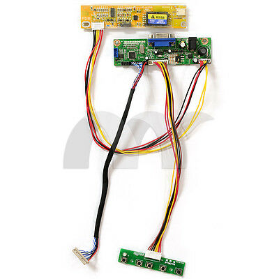 $19.98 • Buy LCD Controller Board Kit Inverter LVDS DIY For LG Philips LP141WP1-TLD1 WXGA+