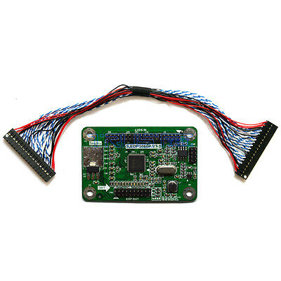 $46.26 • Buy LVDS To EDP Signal Conversion Adapter Board For DIY Embedded DisplayPort Monitor
