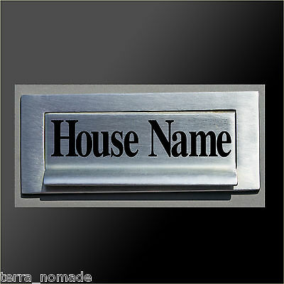 £2.99 • Buy Post, Mail, Box House Name Sticker, Decal, Vinyl