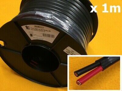 AU8.20 • Buy 1m X 59 Amp Battery Cable 8BS Twin Core 7.9mm2 Electrical Auto Wire TYCAB