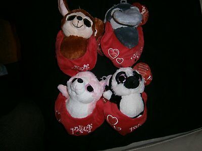 Keel Toys 18cm Podlings 4 Assorted One Supplied At Random With Hearts On Pouch • 6.99£
