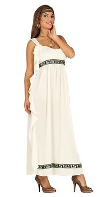Adult Olympic Goddess Costume Ladies Roman Greek Toga Fancy Dress Outfit • 17.49£