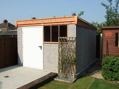 Concrete Shed / Workshop Delivered And Fitted To Many Areas For Free    • 2,500£