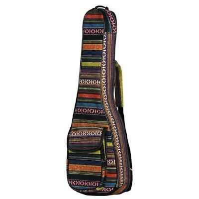 AU20.40 • Buy Ukulele Padded Gig Bag Concert Case Shoulder Backpack For 23 Inch Guitar Bag