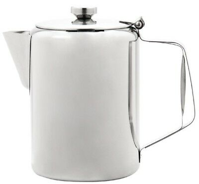 £19.95 • Buy Sunnex Large Stainless Steel Teapot Coffee Pot Catering Restaurant 100oz 3.0L