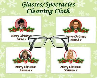 Christmas Glasses Cleaning Cloth Retro Music Artist  Secret Santa/stocking Gift • 2.75£