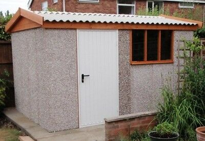 Concrete Apex Shed / Workshop Delivered And Fitted To Many Areas For Free • 3,250£