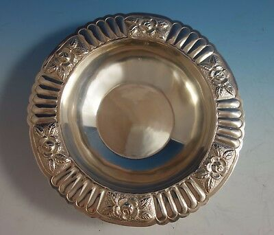 $559 • Buy Aztec Rose By Maciel Mexican Mexico Sterling Silver Fruit Bowl #5838-6 (#1777)