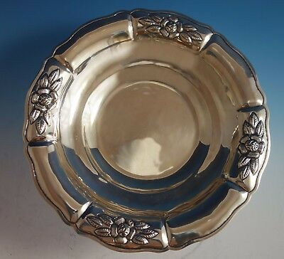 $809 • Buy Aztec Rose By Maciel Mexican Mexico Sterling Silver Fruit Bowl #2208/8 (#1784)