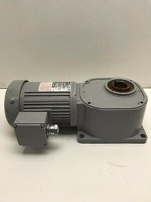 $212.67 • Buy FS35N030-BML4A Brother Right Angle Hollow Bore-Flange Mount Gear Motor  #7852