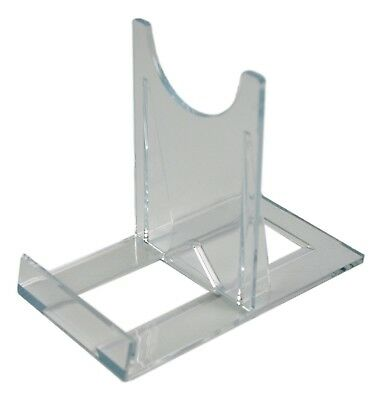 £7.49 • Buy SS2 Blu-ray / DVD Steelbook Large Clear Plastic Display Stands (Pack Of 5)