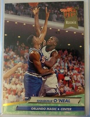 Shaquille O Neal Rookie Card