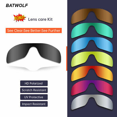 AU16.95 • Buy GDA Polarized Replacement Lenses For Oakley Batwolf 9101 Sunglasses Personalised