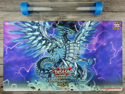 AU32.37 • Buy YuGiOh Blue-Eyes Chaos MAX Dragon Custom Playmat TCG Mat Free High Quality Tube