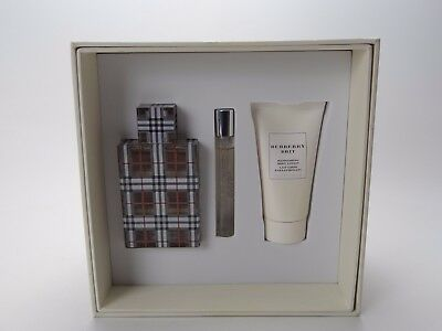 £45 • Buy Burberry Brit Gift Set With 50ml+ 7.5ml Edp & 50ml Body Lotion