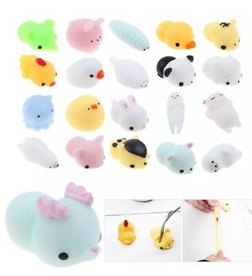 AU4.80 • Buy Squishy Slow Rising Fidget Kaesong Cur Animal Carton Hand Toy 16pc Value Pack