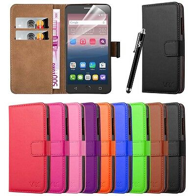 Wallet Pouch Leather Book Flip Case Cover For Various Mobile Phones • 4.45£