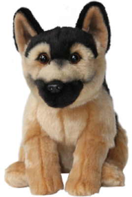 Toy German Shepherd Quality Cute And Cuddly Soft 12  Toy Dog • 18.95£
