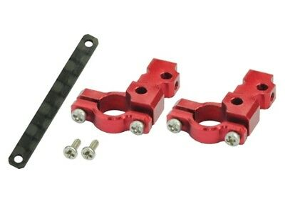 Aluminum DS35 Tail Servo Mount Round (RED) - BLADE 130X • 18.08£