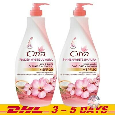 $ CDN30.38 • Buy 400ml X 2 Citra Sakura White UV Hand & Body Lotion Moisturizers SPF20 PA++