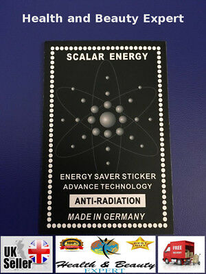 Scalar Energy Sticker Nagative Ion Anti Radiation Mobile Phone IPad Tablet • 7.99£