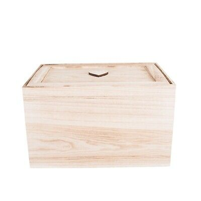 Wooden Chest Kid Toys Storage Collection Box Wooden Crates Christmas Gift Hamper • 14.24£
